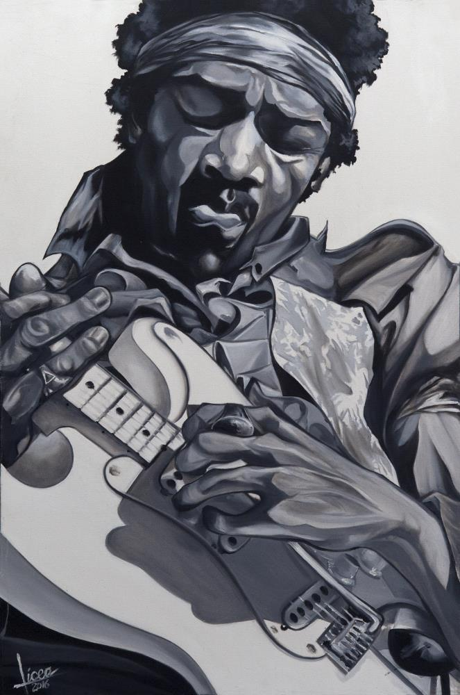 Jimi Hendrix | Licea Studios