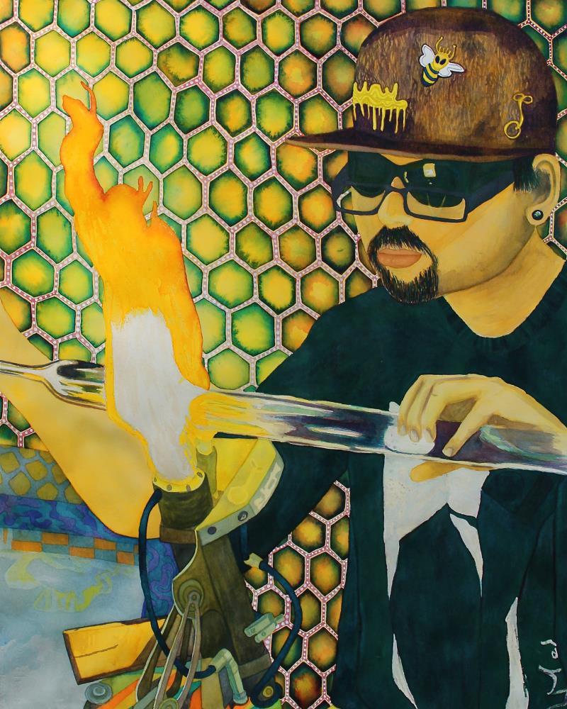 glassblowing16x20   Moroz Artworks