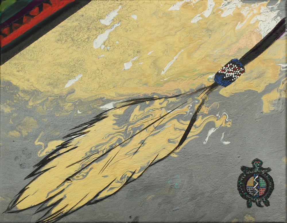 Acrylic: Mountain Hawk Un... | KD Galonedi