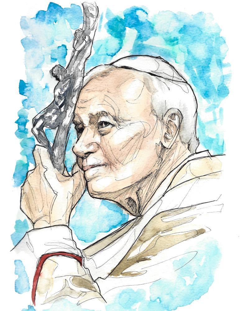 St. John Paul II | natecfcyams
