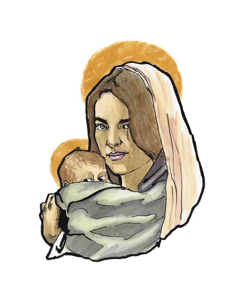 Madonna and Child | natecfcyams