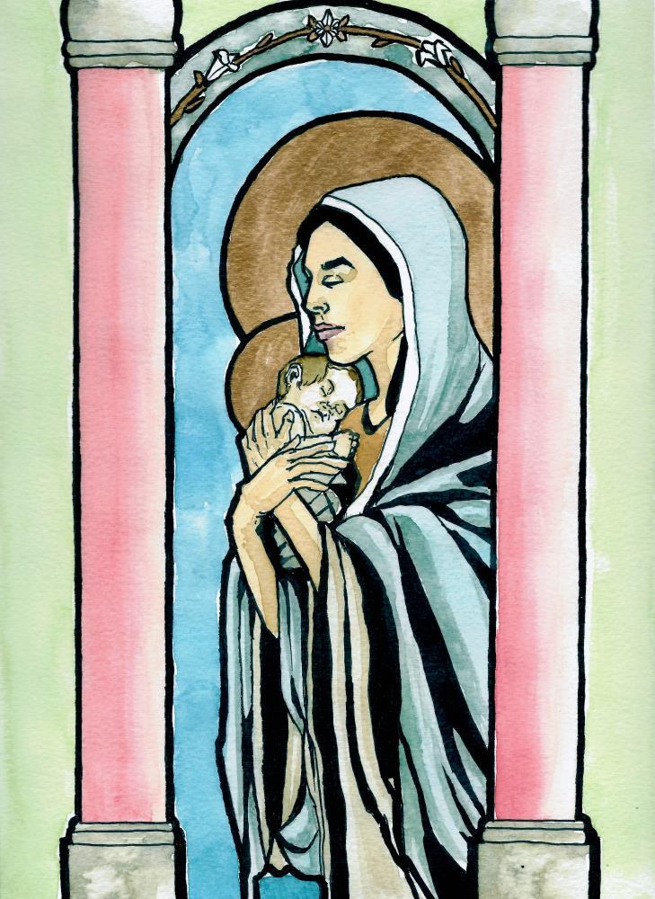 Madonna and Child (Art No... | natecfcyams