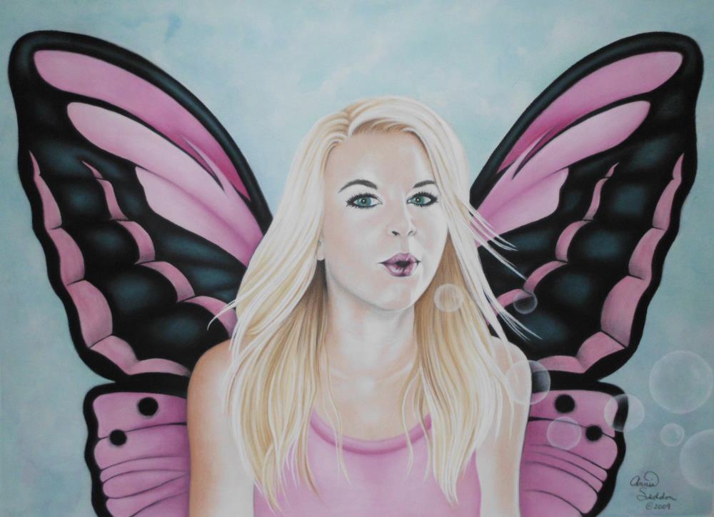 Bubble Fairy   AnnieSyllingArt