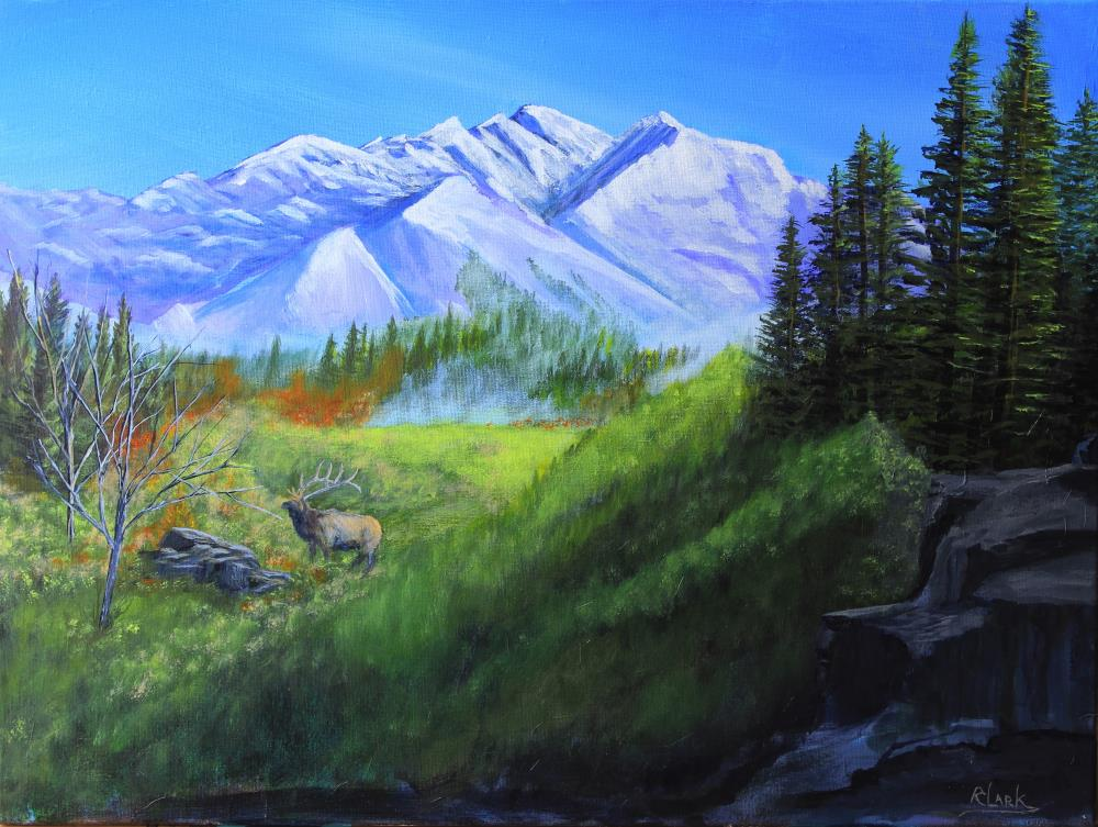 Majestic Mountain View | Robert Clark Fine Art