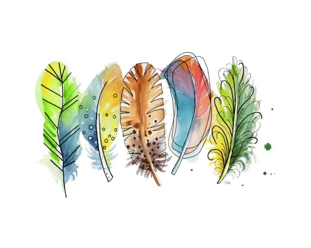 FUN FEATHERS | Patty Iba Art & Design