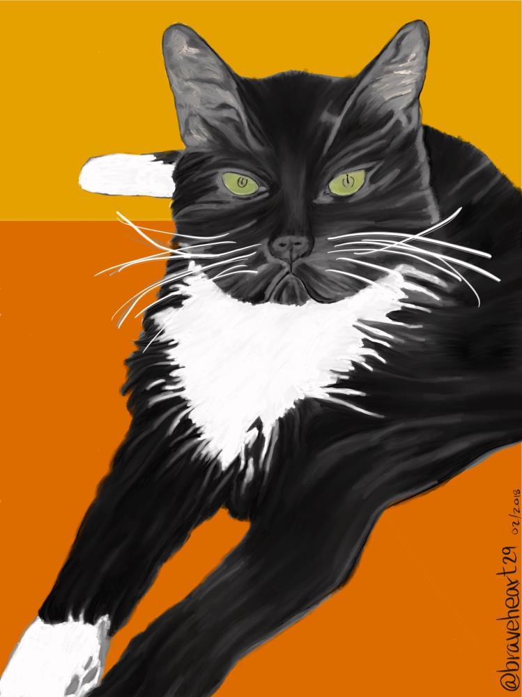 84EA3001-CA2A-4076-B39D-B... | Art Prints by @braveheart...