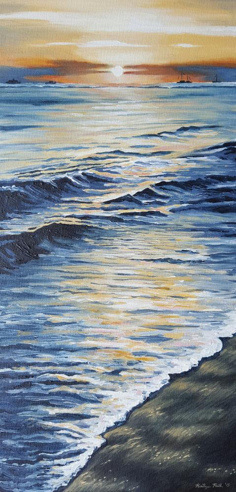 Lahaina Shores | Kathryn Ruth Fine Art