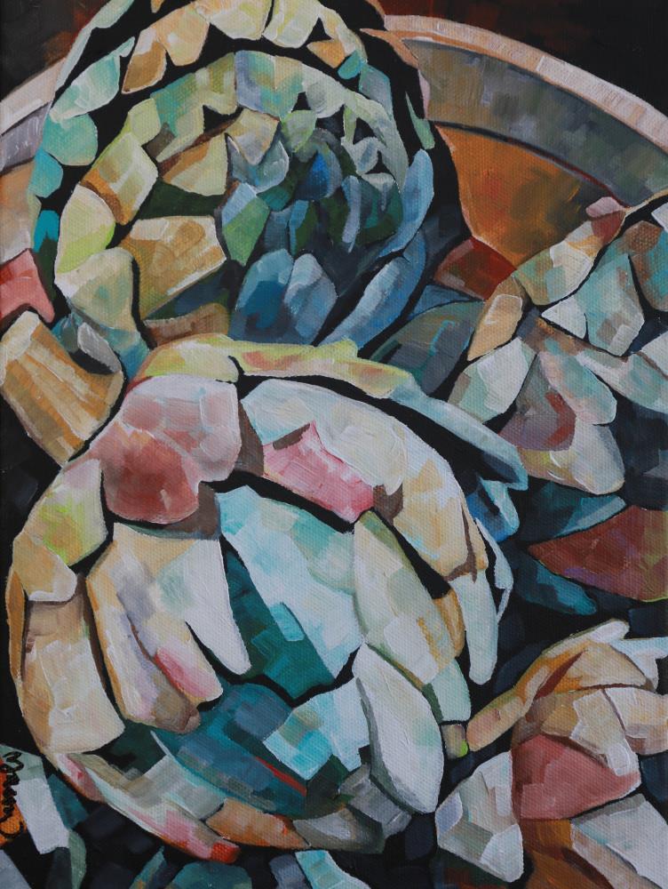 Artichokes | Meredith Jane-Art at Hear...