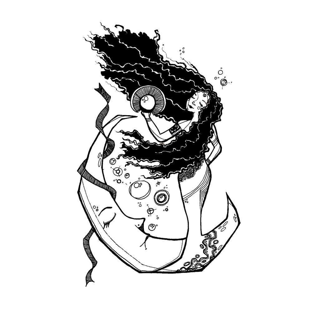 MoonWoman | ΛRCHØTHER ART