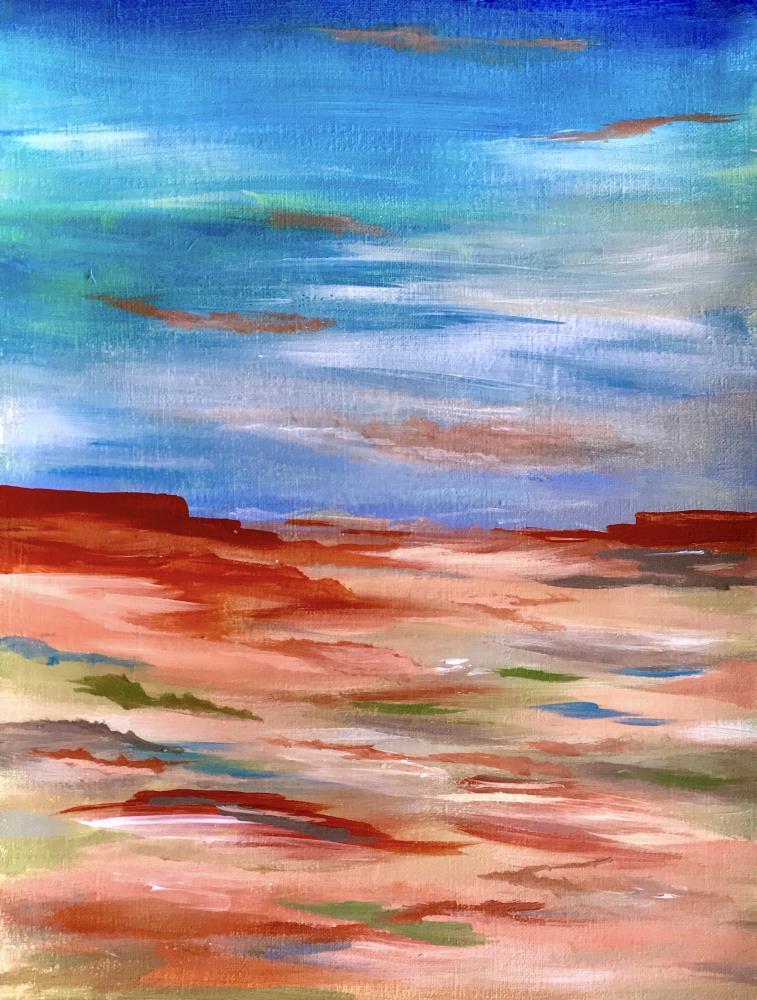 Desert Landscape | Cait's Art Print Gallery