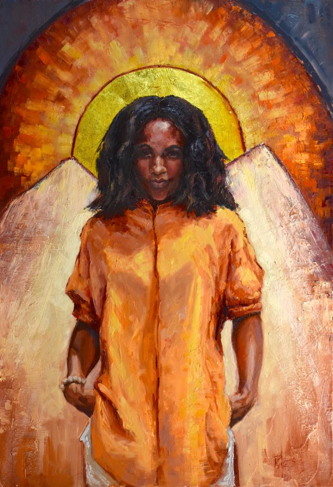 Angel in Gold | Nancy Rynes Arts