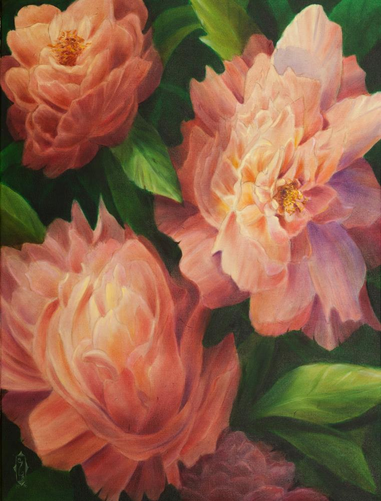Spring Floral | Art by Marsha Bowers