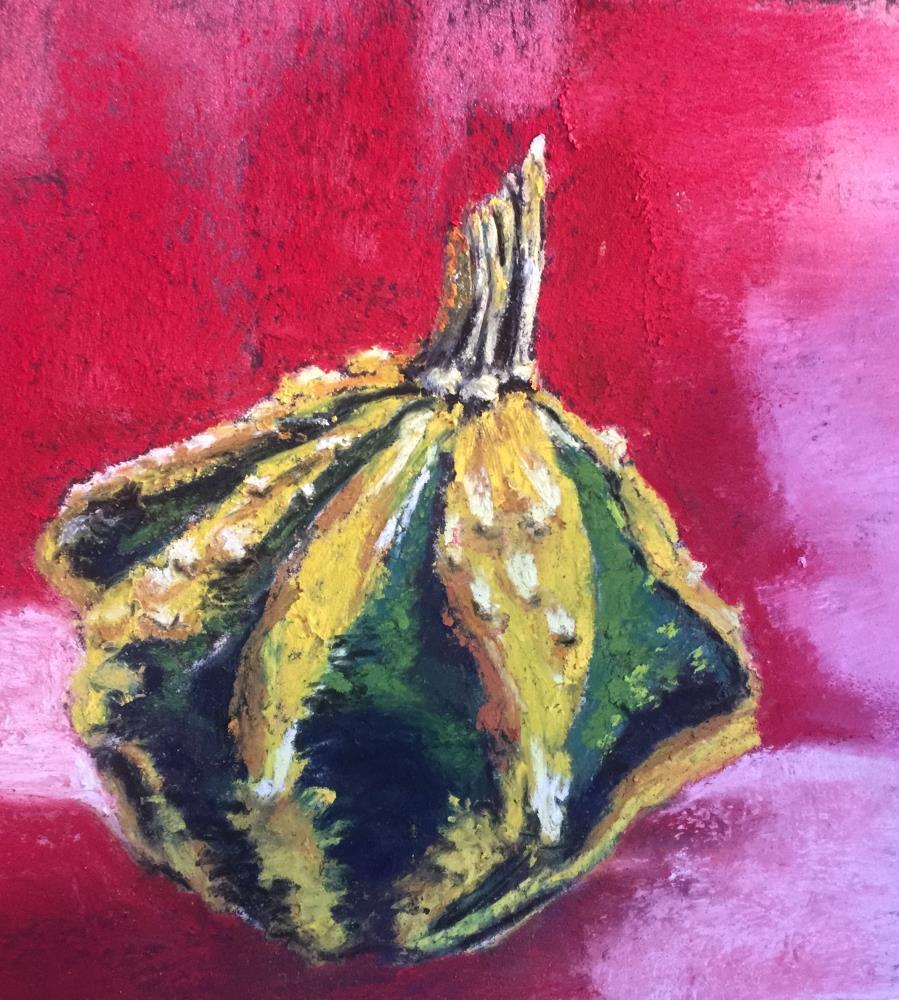 Curious Gourd | Donna Theresa Fine Art