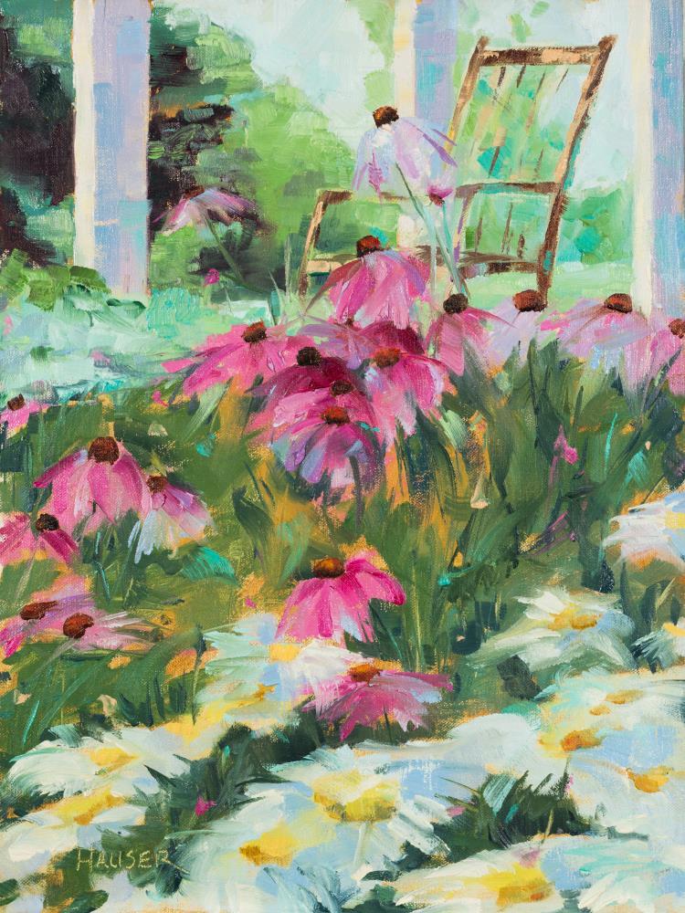 In My Pretty Garden  | Alice Hauser Fine Art