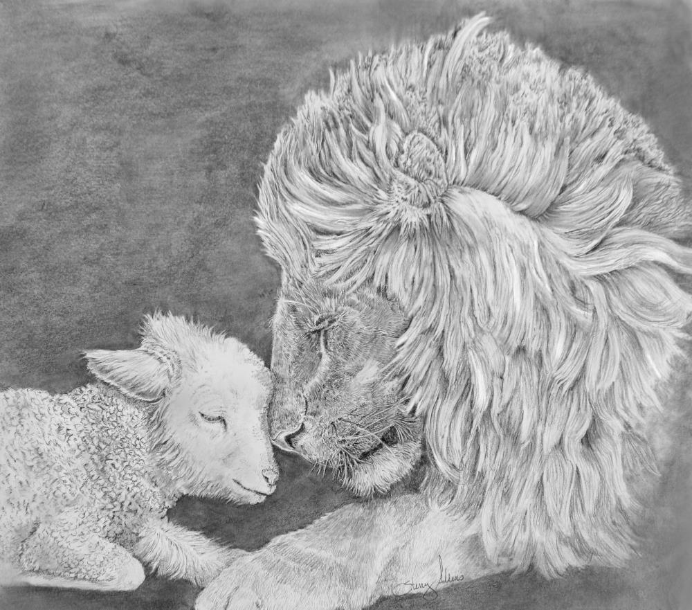 lionandlamb | Sherry Adkins artwork