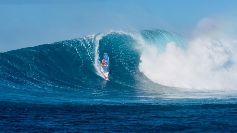 KITE SURF PEAHI 3 | MAUI PEAHI-JAWS SURF PHOT...