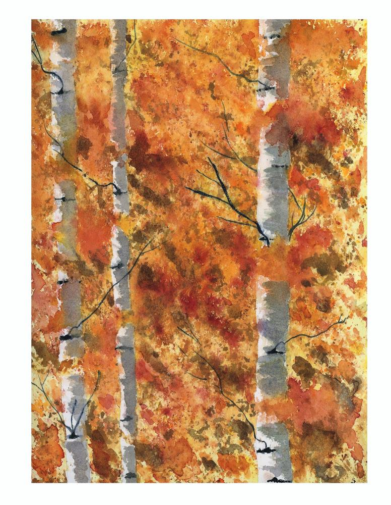 Fall Trees | What a color by Noemi