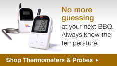 Grill & Smokers Thermometers from Maverick and The BBQ Guru