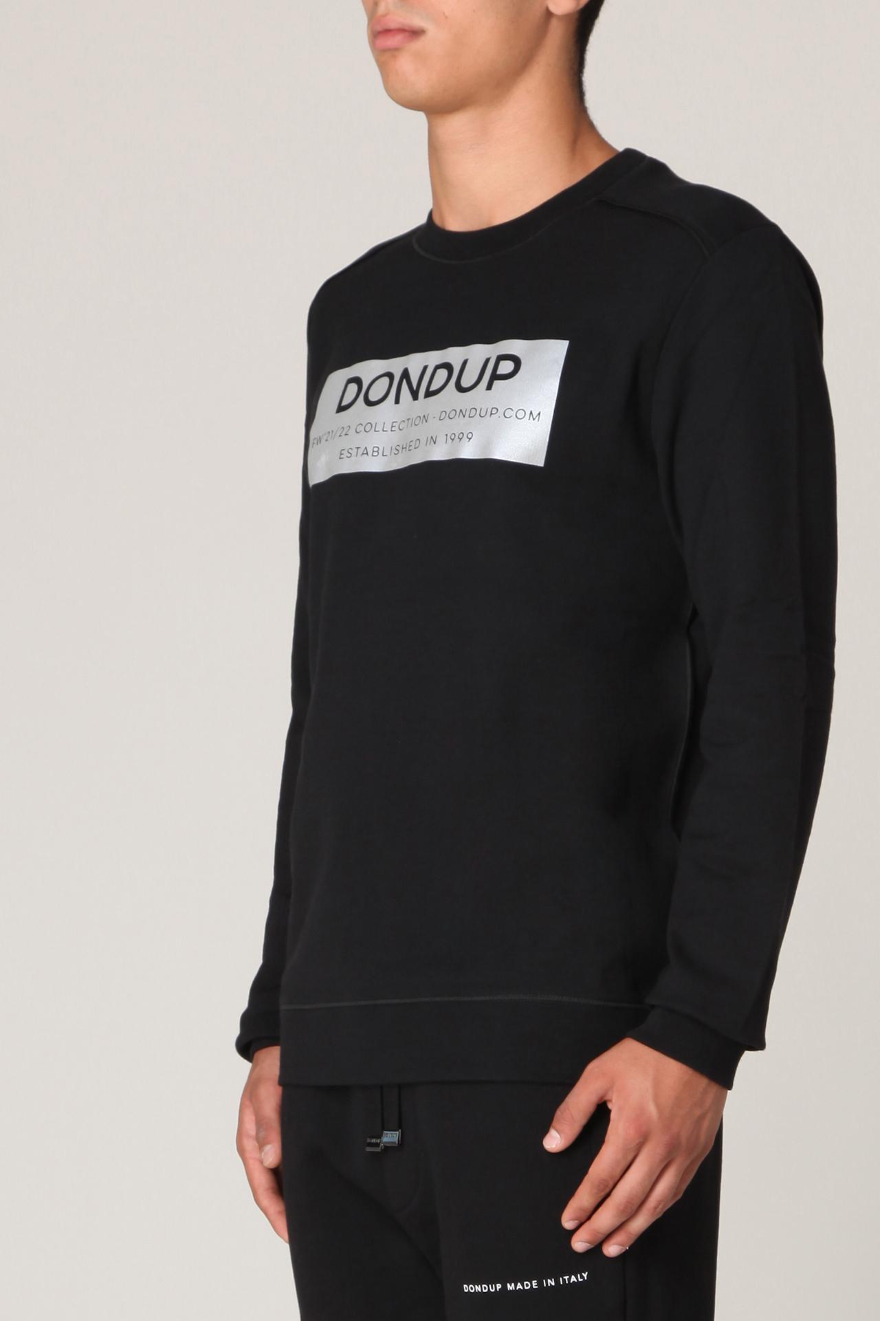 Felpa con logo  DONDUP | Felpa | UF617 KF0136UCA7 999