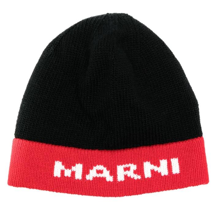 Cappello con logo MARNI | Cappello | CLZC0070Q000N99