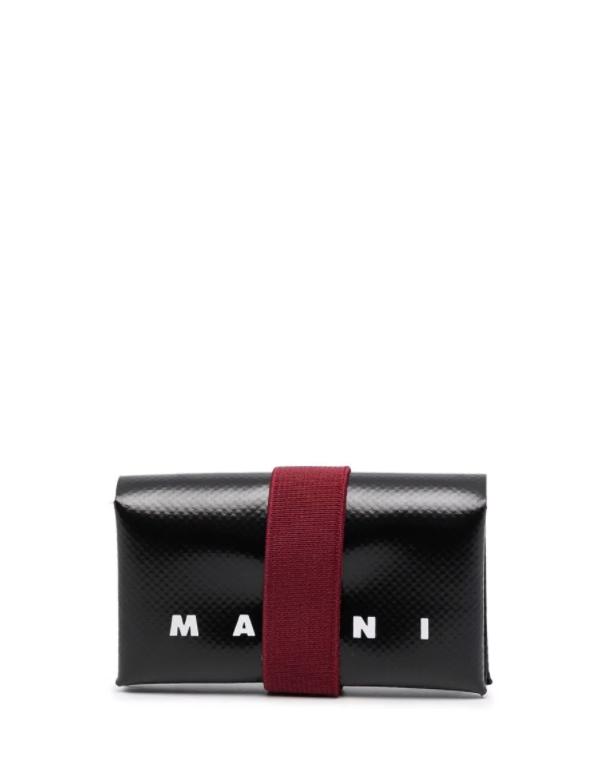 Portafoglio con logo MARNI | Portafoglio | PFMI0007U2Z3O13