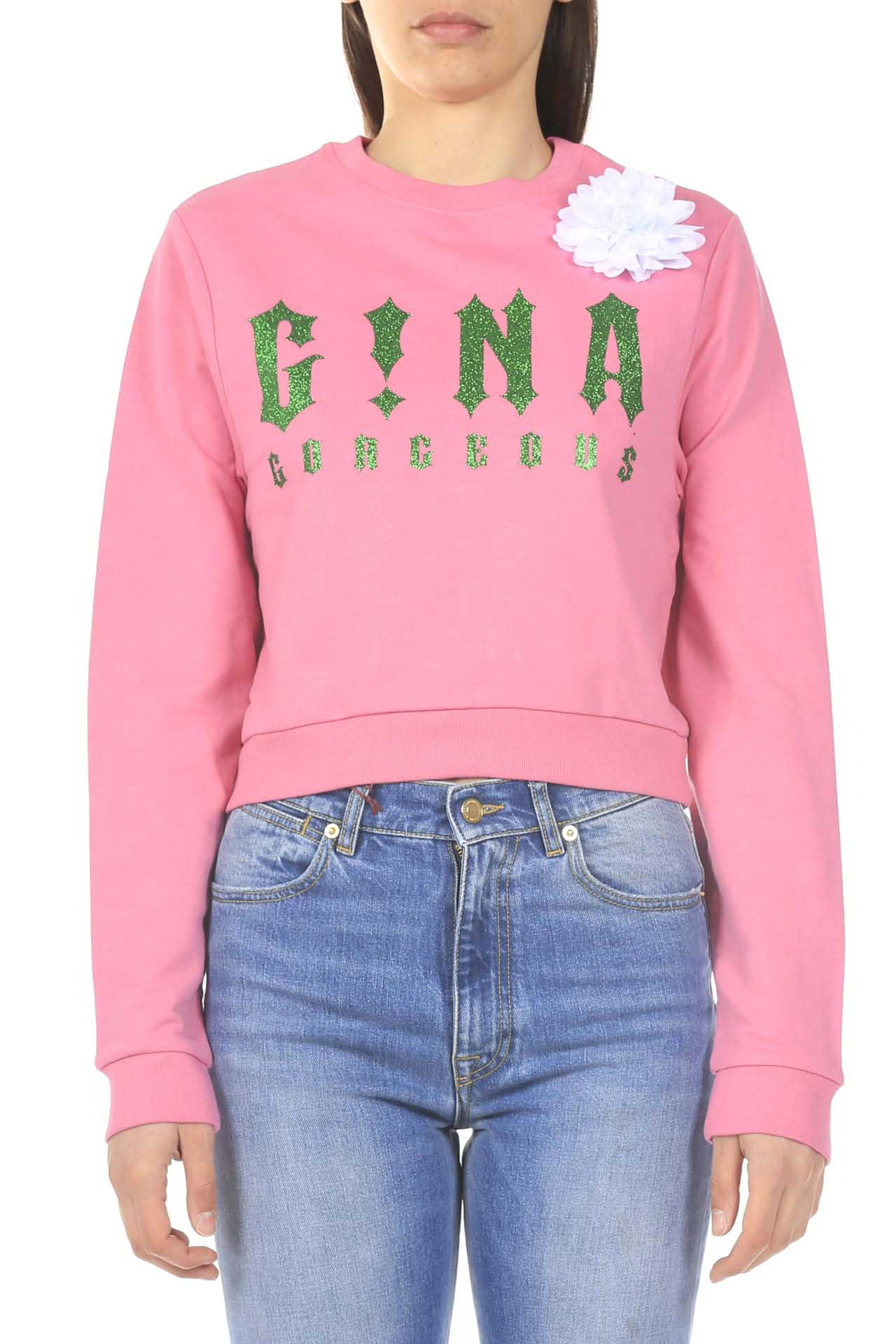 Felpa crop GINA | Felpa | GI110603/A325