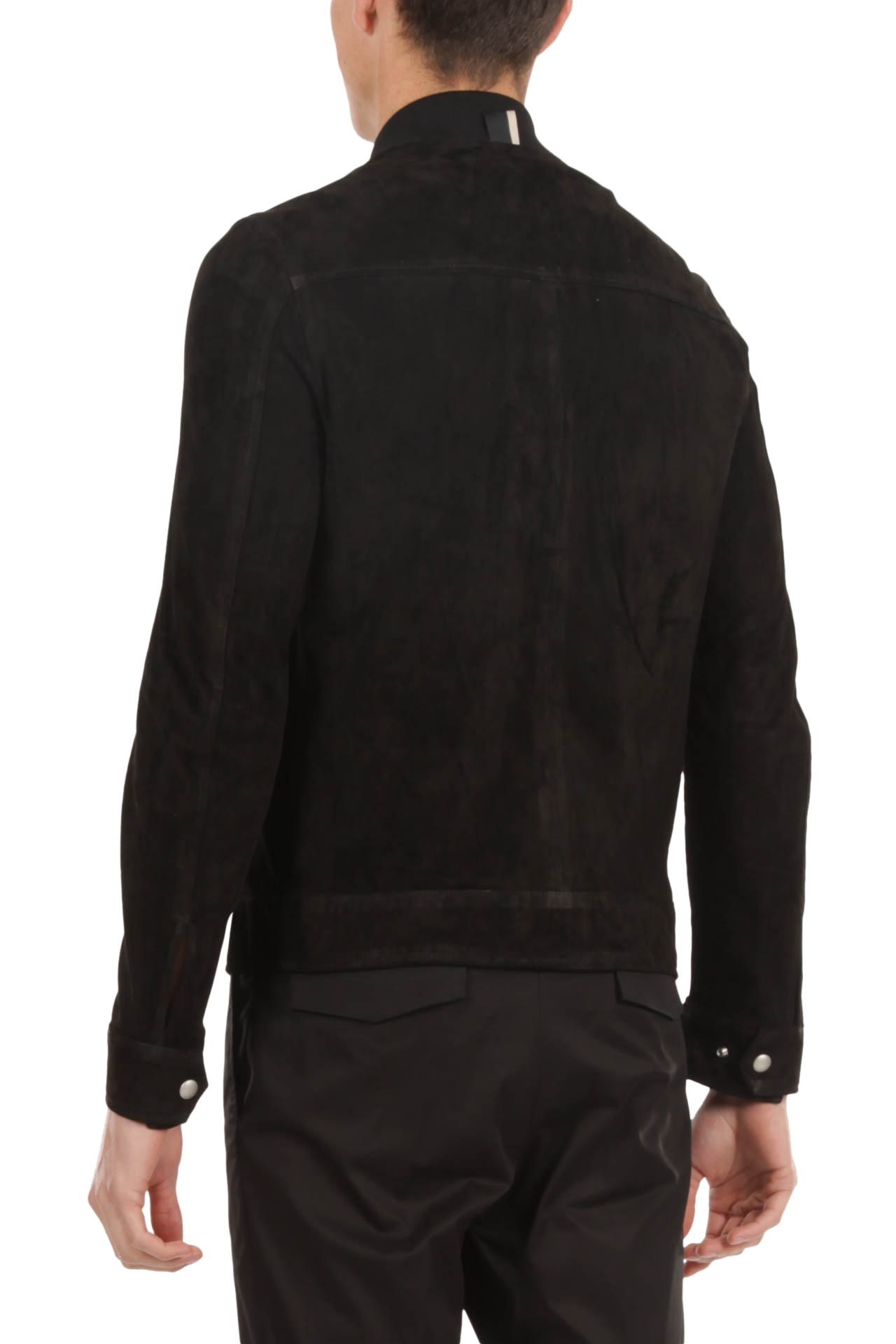 Bomber in suede LOW BRAND | Bomber | L1JSS215854D001