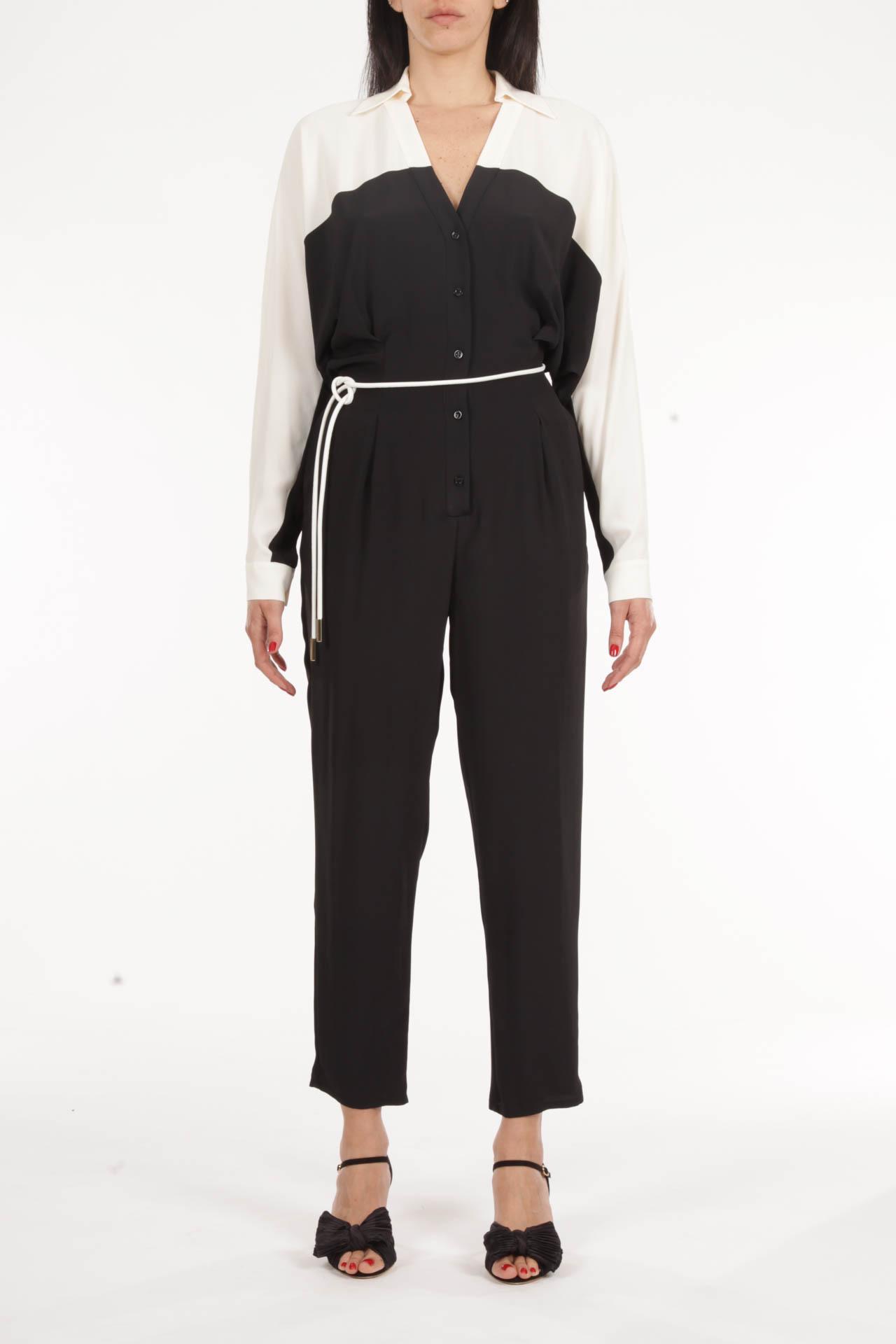 SIMONA CORSELLINI | Track suit | P21CPTU001-01-TACE0002NERO/BIANCO