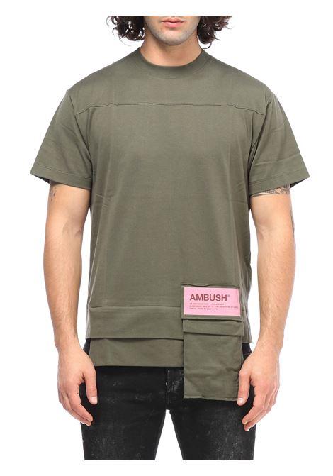 T-shirt Con tasca AMBUSH | T-shirt | BMAA004F20JER0015900