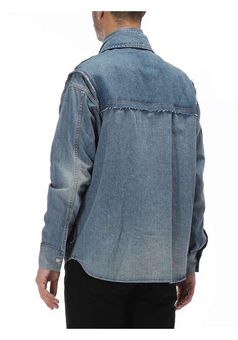 Giacca denim a strati AMBUSH | Jacket denim | BMYE002F20DEN0014700