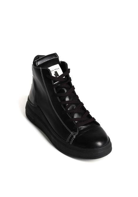 Sneakers alta in pelle di vitello CINZIA ARAIA   Scarpe   ARAIA 74 CA226-M-V1-A2
