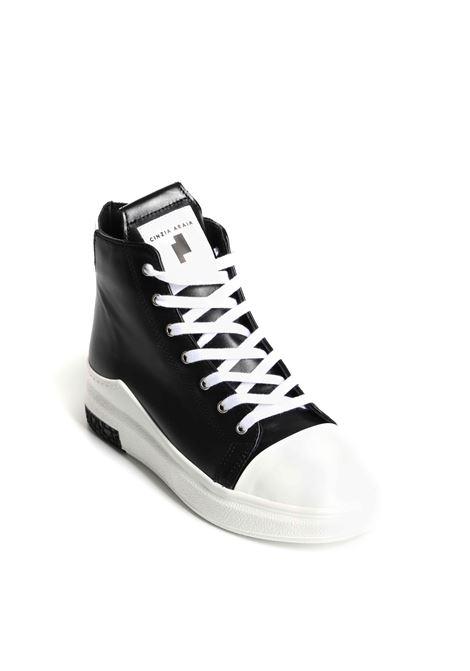 Sneakers alta in pelle di vitello CINZIA ARAIA   Scarpe   ARAIA 74 CA D124-W-ST2-A1