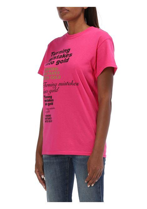 T-shirt girocollo CIRCUS HOTEL   T-shirt   H0WJ01FUCSIA