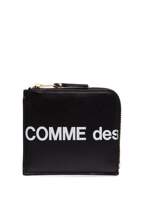 Comme des garcons Wallet COMME DES GARCONS | Portafogli | SA3100HLNERO