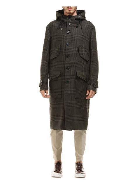 Cappotto lungo con cappuccio DONDUP   Cappotto   UJ727 QF0176UXXX DU 697
