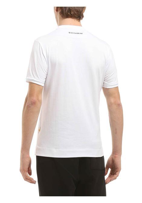 T-shirt girocollo GAZZARRINI | T-shirt | MI266GBIANCO