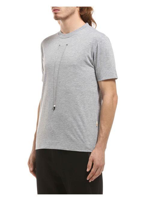 T-shirt girocollo GAZZARRINI | T-shirt | MI274GGRIGIO