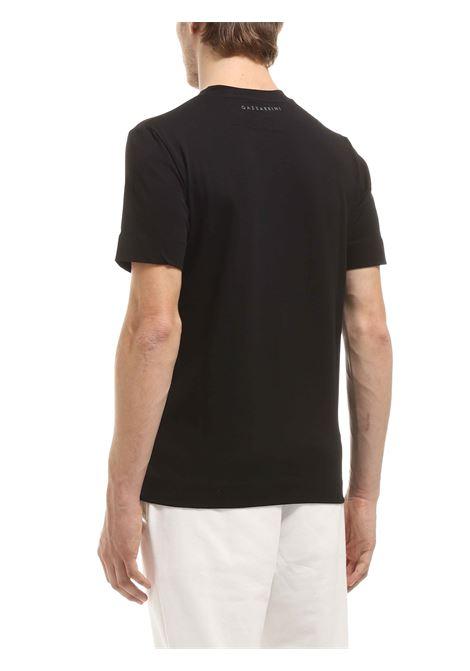 T-shirt girocollo GAZZARRINI | T-shirt | MI281GNERO