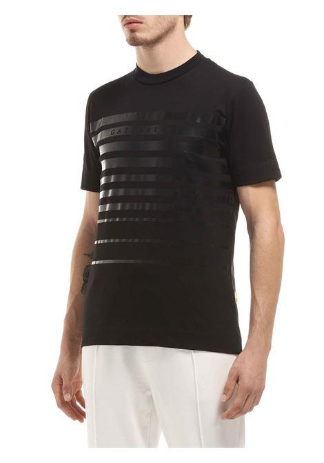 T-shirt girocollo GAZZARRINI | T-shirt | MI283GNERO
