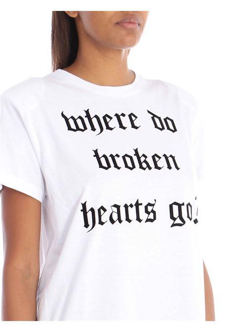 T-shirt con spalline GINA   T-shirt   GI200705/ABIANCO