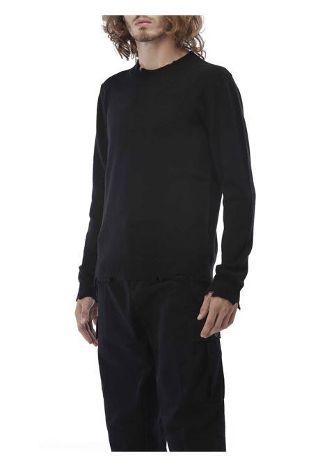 Maglione girocollo GRIFONI | Maglione | GH110022/64BLACK