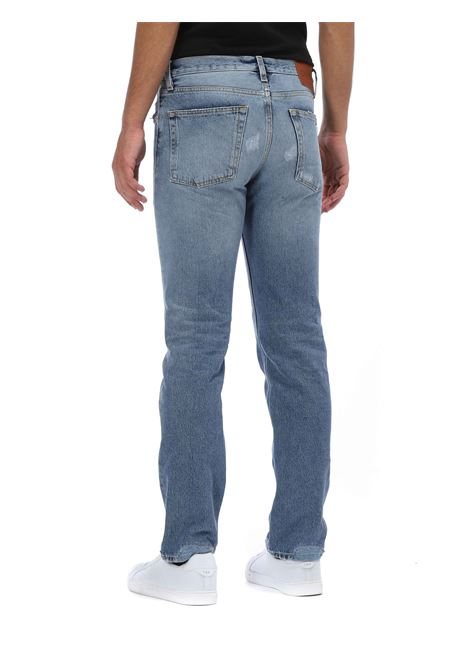 Jeans con rotture GRIFONI | Jeans | GH142008/91/M23RBLU