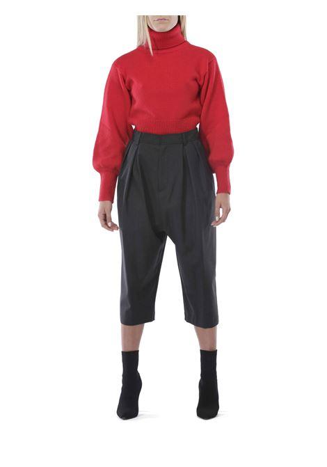 Pantalone gonna GRIFONI | Pantalone | GH240002/24GRIGIO