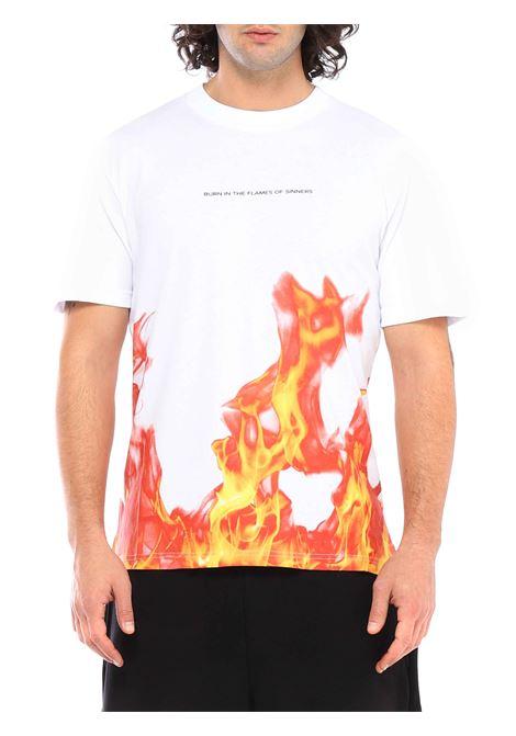 T-shirt girocollo IHS   T-shirt   TF01SBIANCO