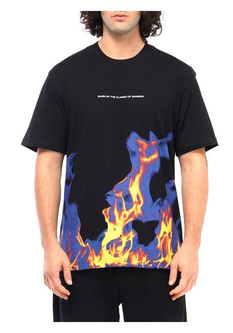 T-shirt girocollo IHS   T-shirt   TF02SNERO