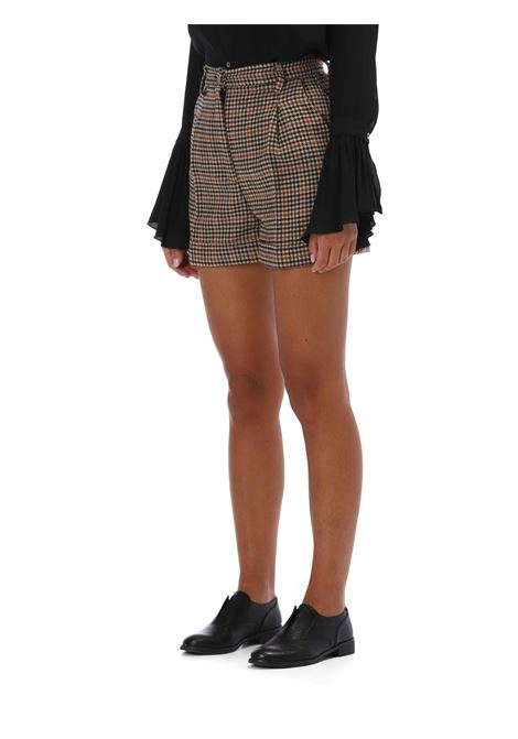 Shorts a campana JUCCA   Shorts   J3214044BEIGE/ NERO