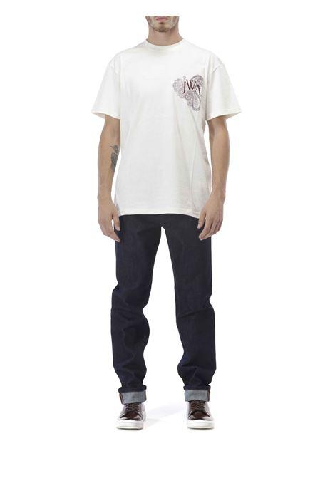 Jeans slim con risvolto JW ANDERSON | Jeans | TR0071 PG0350870