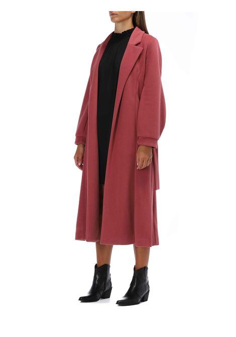 Cappotto basic lungo  MERCI | Cappotto | MH125IROSA
