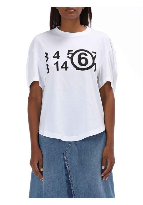 T-shirt over MM6 MAISON MARGIELA   T-shirt   S62GD0071S23588
