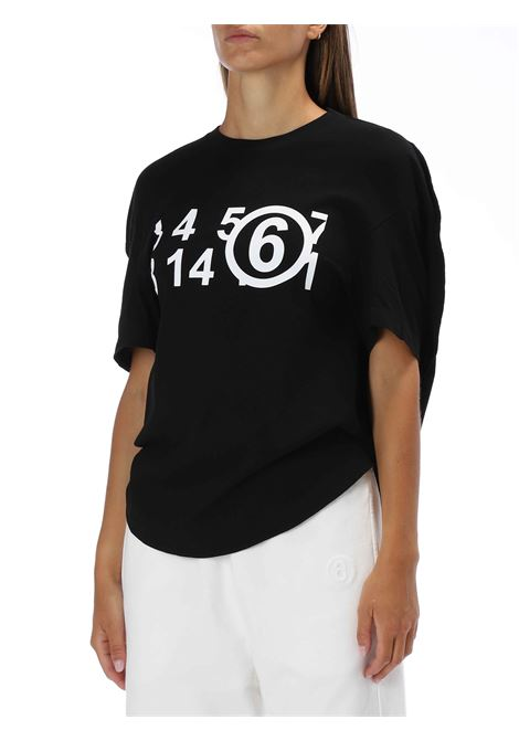 T-shirt over MM6 MAISON MARGIELA   T-shirt   S62GD0071S23588N